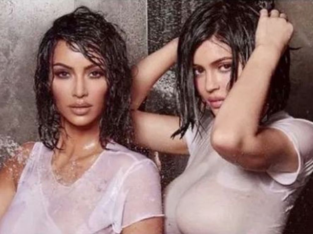 Heboh Cuplikan Video Seksi Kim Kardashian dan Kylie Jenner