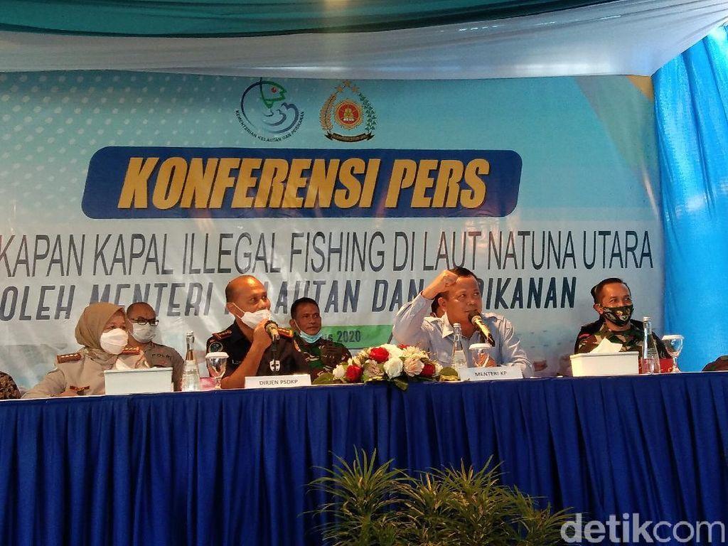 3 Kapal Asing Ilegal Berbendera Vietnam Ditangkap di Perairan Natuna