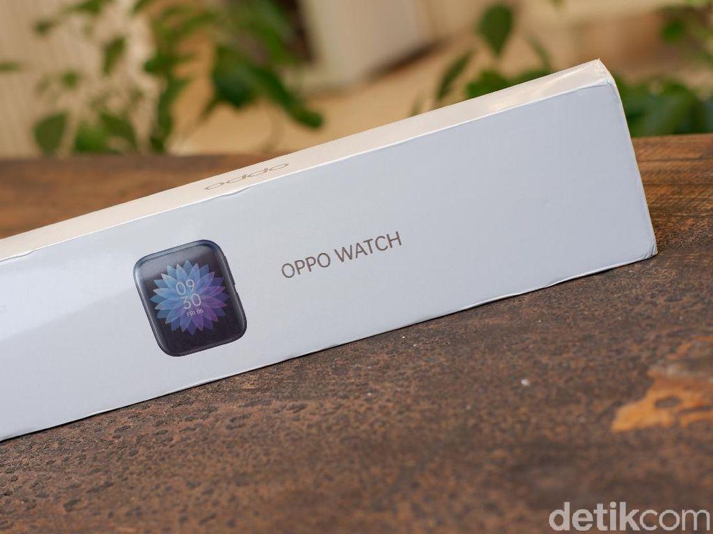 Unboxing Oppo Watch, Jam Tangan Pintar yang Menawan