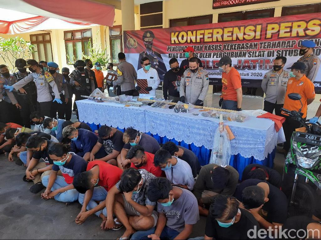 Ditangani Maraton, Kasus Kekerasan Oknum PSHT Situbondo Libatkan 85 Penyidik