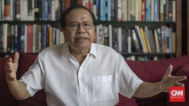 Mantan Menteri Koordinator Bidang Kemaritiman, Rizal Ramli. CNN Indonesia/Bisma Septalisma