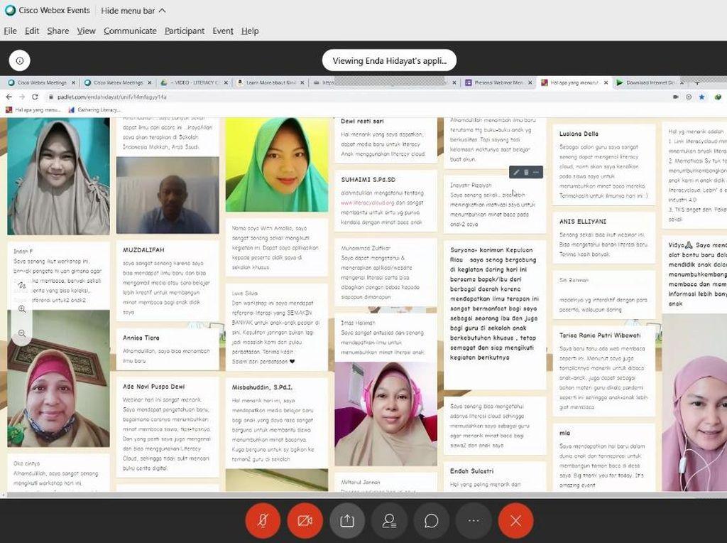 Literacycloud.org Beri Alternatif Sumber Bacaan Saat Pandemi