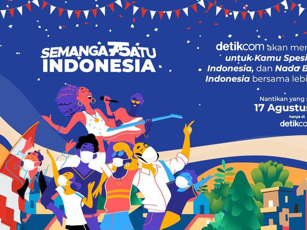 detikcom Punya Semangat Satu Indonesia untuk Rayakan 17-an Bareng Kamu