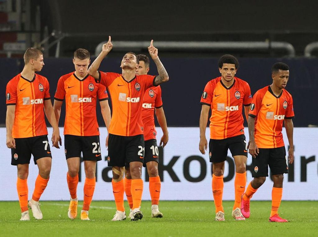 Kalahkan Basel 4-1, Shakhtar Donetsk Jumpa Inter di Semifinal Liga Europa