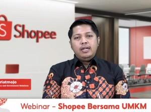 Gandeng Pemerintah, Shopee Dorong Digitalisasi UMKM