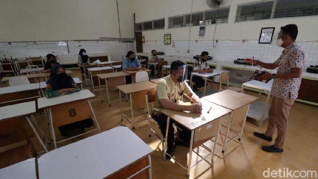 SMKN 6 Surabaya Gelar Simulasi Belajar Tatap Muka, Hasilnya?