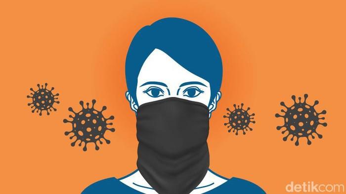 4 Alasan Masker Buff Disebut Paling Tak Efektif Tangkal Corona