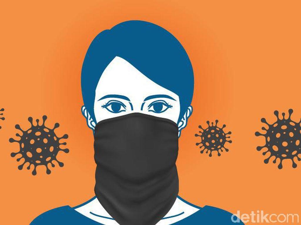 Tentang Masker Buff dan Scuba yang Dinilai Tak Efektif Cegah Corona