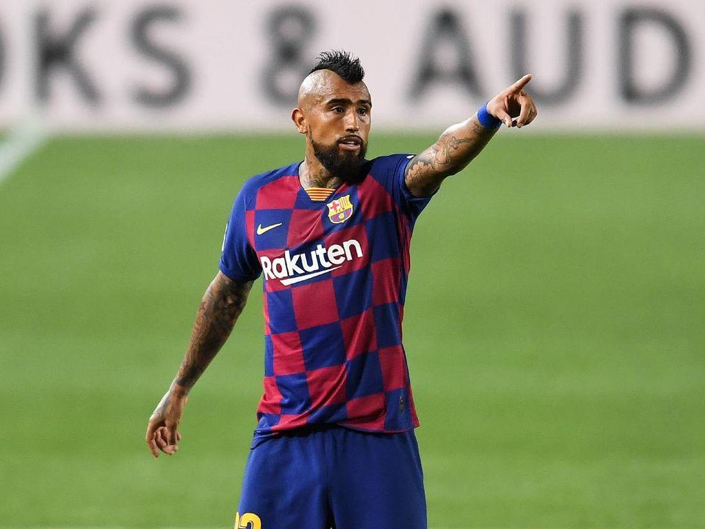 Vidal Mau Putus Kontraknya di Barcelona