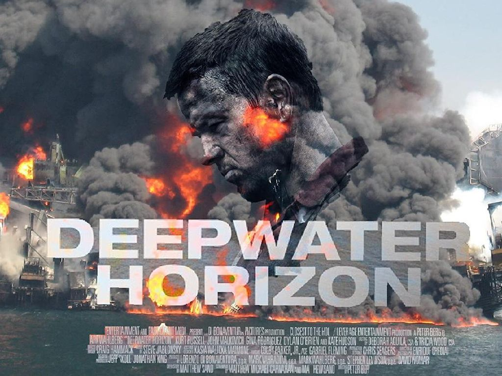 Sinopsis Deepwater Horizon, Bencana Pengeboran Minyak Terburuk Amerika