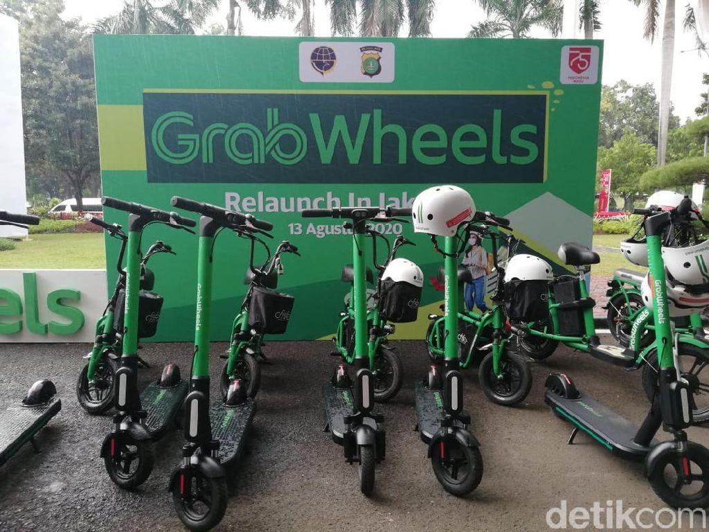Pakai Grabwheels Enggak Bisa Seenaknya, Segini Denda Kalau Melanggar