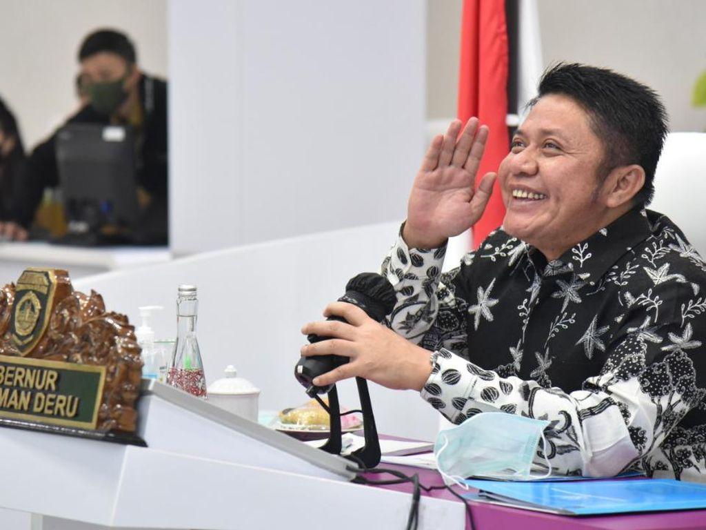 HD Rapat Bareng KPK, Bahas Konflik Aset PT KAI di Sumsel