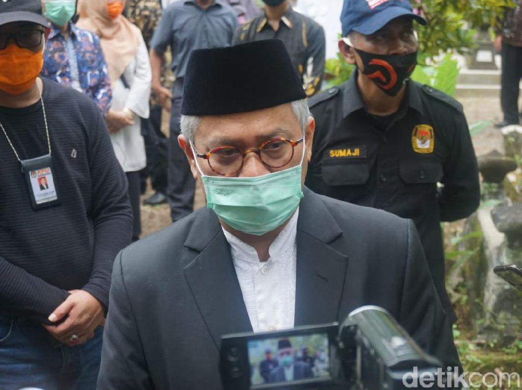KPU Wajibkan Calon Kepala Daerah Jalani Swab Test Covid-19