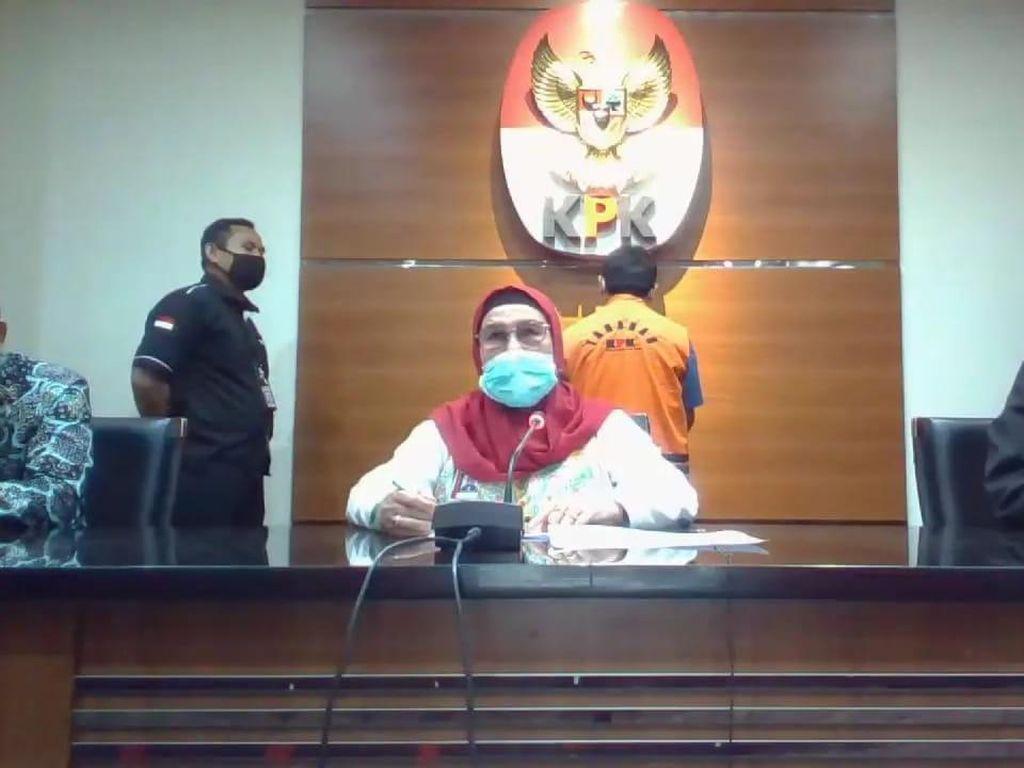 KPK Tahan Eks Bupati Bogor Rachmat Yasin