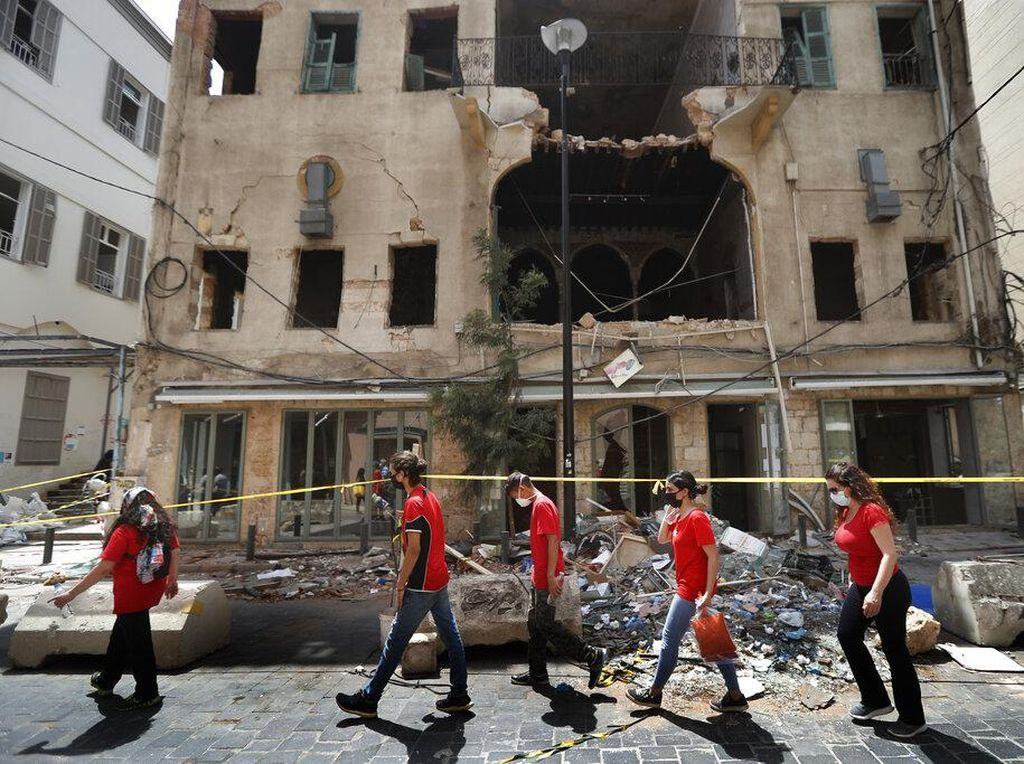 Kasus Corona Melonjak Usai Ledakan Beirut, Lebanon Berlakukan Jam Malam
