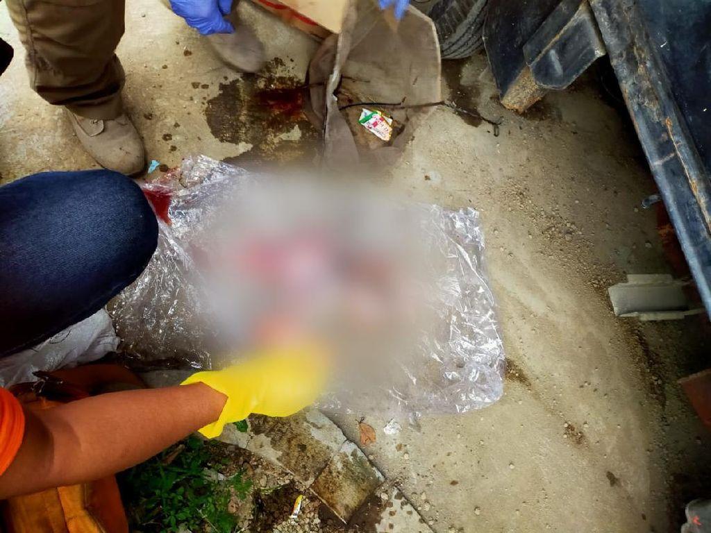 Geger Penemuan Mayat Bayi di Aliran Sungai Cibeureum Cimahi