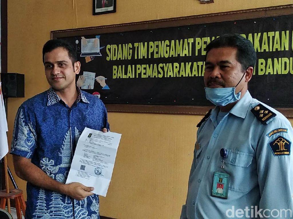 Video Resmi Bebas, Nazaruddin Mau Berpolitik Lagi?