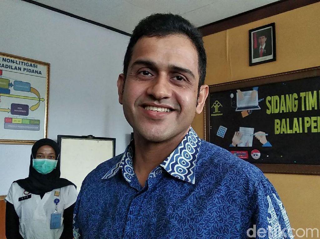 Senyum Bahagia Nazaruddin Setelah Bebas Murni
