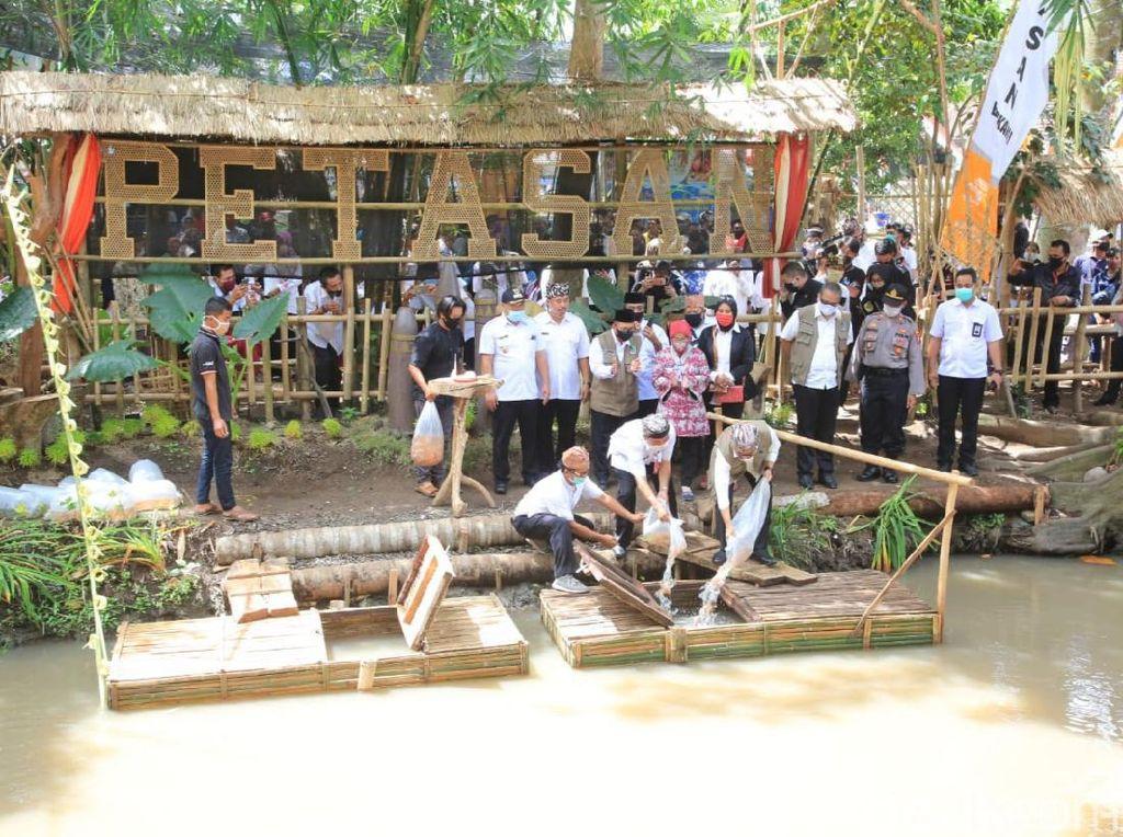 Optimis di Tengah Pandemi, Pemuda Desa Banyuwangi Buka Wisata Kuliner Air Tawar