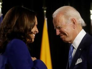 Joe Biden-Kamala Harris Sebut Trump Nyinyir dan Bikin AS Compang-camping