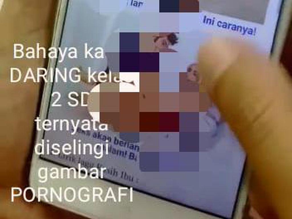 Iklan Pornografi yang Viral Gegara Nyelip di Situs Belajar Daring