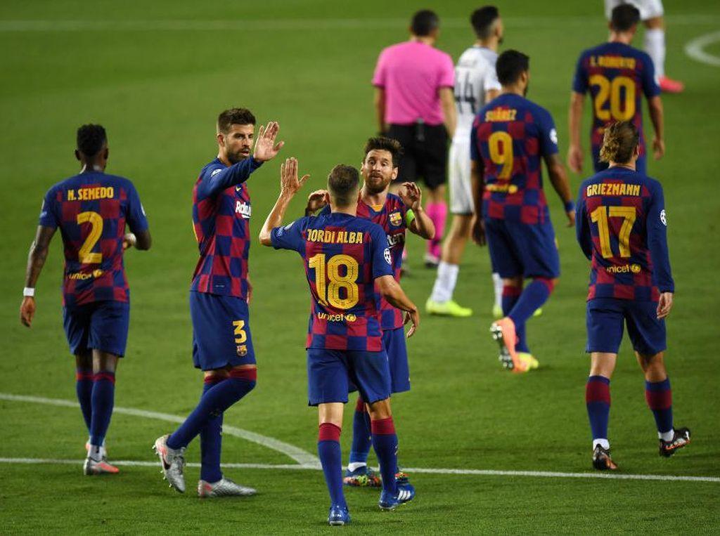 Jika Ingin Redam Bayern, Barcelona Harus Menangkan Ball Possession