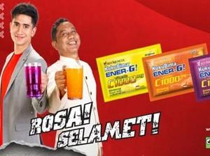 Jaga Stamina Tubuh agar Rosa dan Selamet dengan Kuku Bima Ener-G!