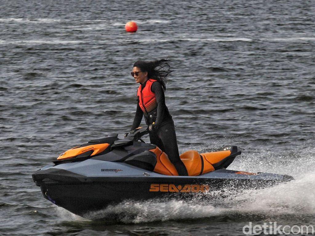 Anindya Putri Lirik Potensi Jet Ski di Semarang