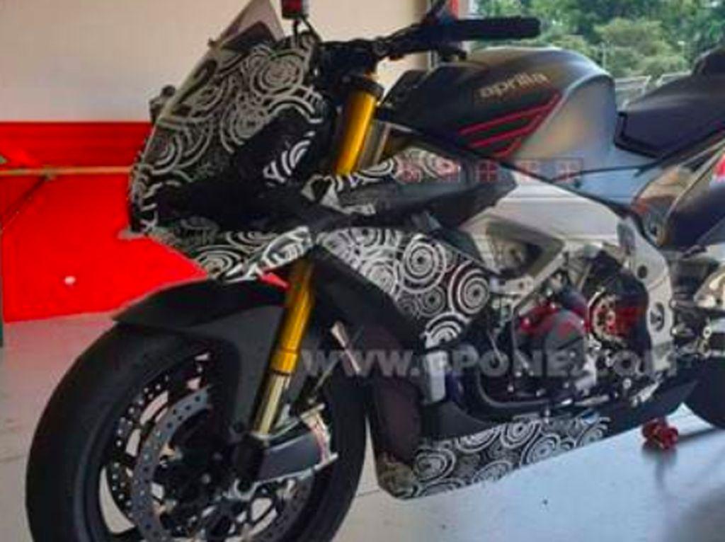 Ini Tampang Aprilia Tuono yang Punya Fairing ala MotoGP