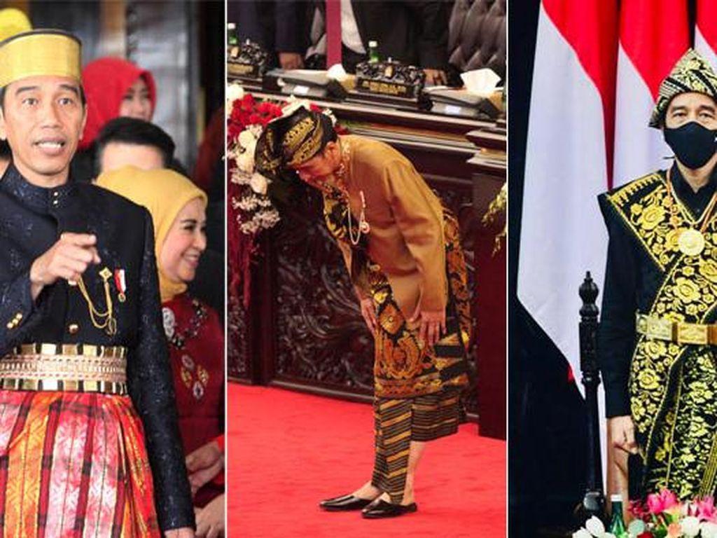 Deretan Baju Adat yang Pernah Dipakai Jokowi di Sidang Tahunan