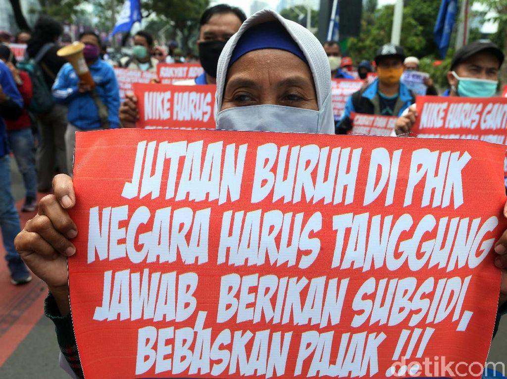 DPR Rapat Bareng Serikat Buruh Bahas RUU Ciptaker