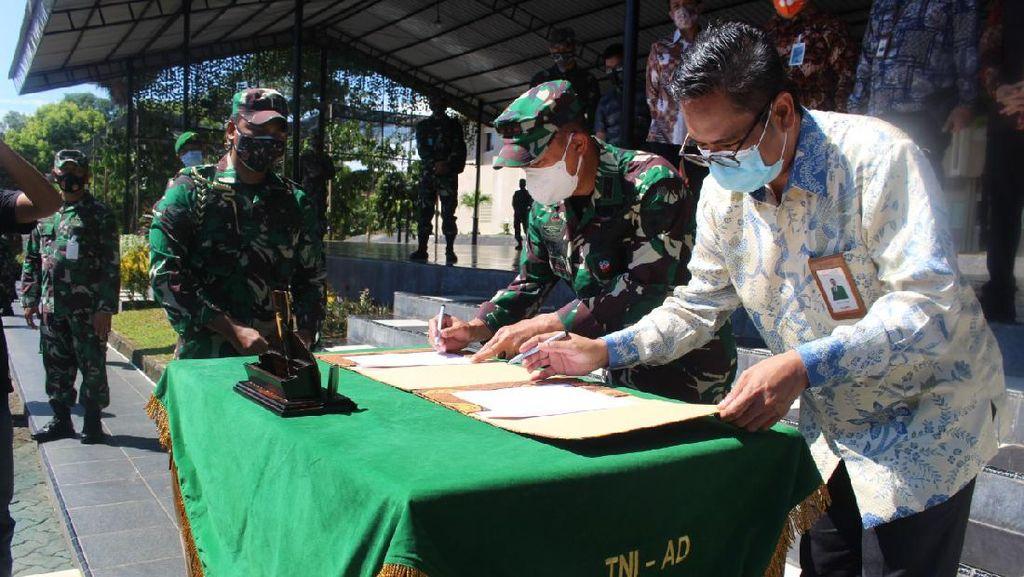 BNI Dampingi UMKM Binaan Kodam XIV Hasanuddin
