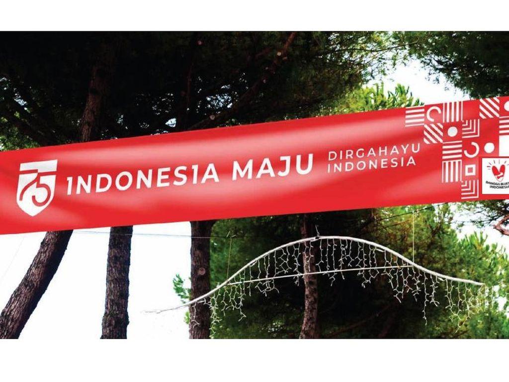 Link Download Logo HUT RI ke-75 Indonesia Maju, Makna, dan Contoh Spanduk