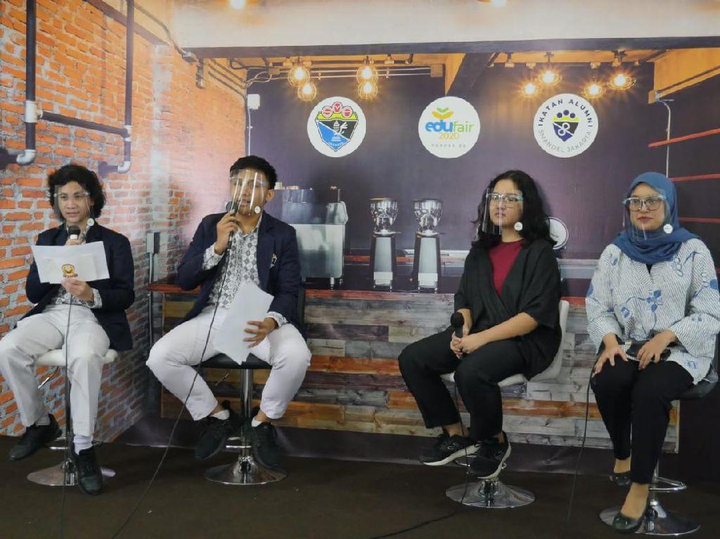 Sesi Akhir Part 2 Edufair SMAN 8 Jakarta Digelar, Ada Alumni Talk HARAPAN