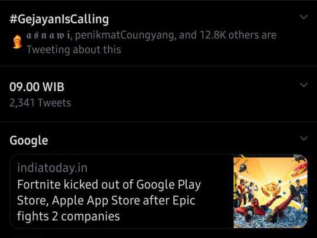#GejayanIsCalling Ramai di Twitter, Ada Apa?