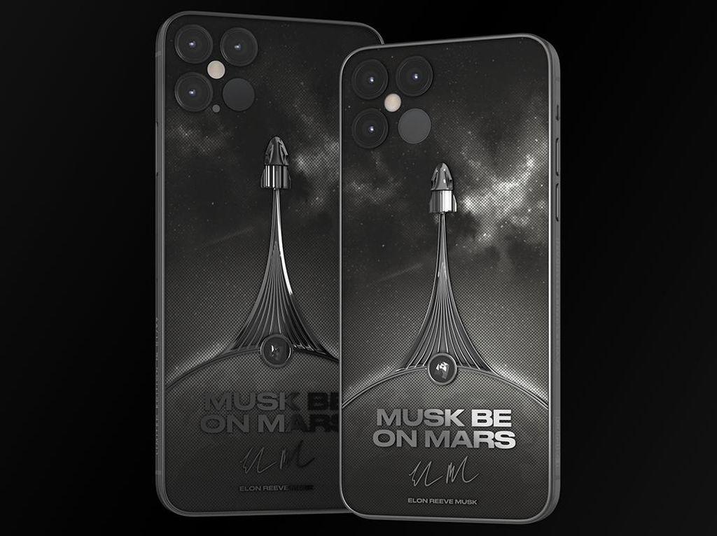 Wow! iPhone 12 Pro Bertema Elon Musk Dijual Rp 86 Juta