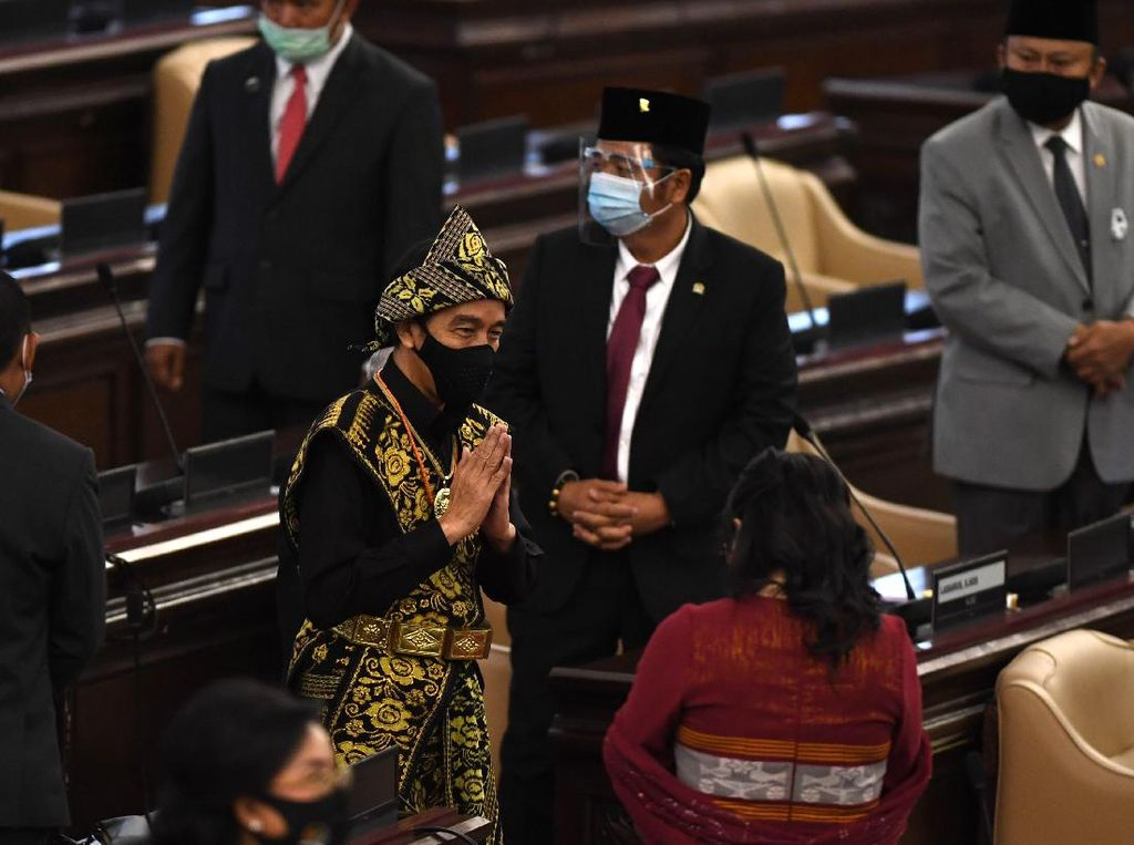 Jokowi Bicara Upaya-upaya Kemandirian Energi di Tengah Pandemi