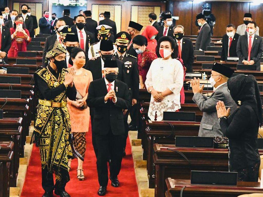 Usai Pidato Bajak Momentum Krisis Corona, Jokowi Tinggalkan Kompleks DPR