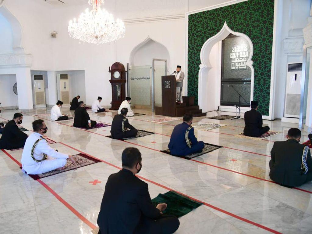 Maruf Jadi Khatib Salat Jumat di Masjid Istana, Khotbah Refleksi Kemerdekaan