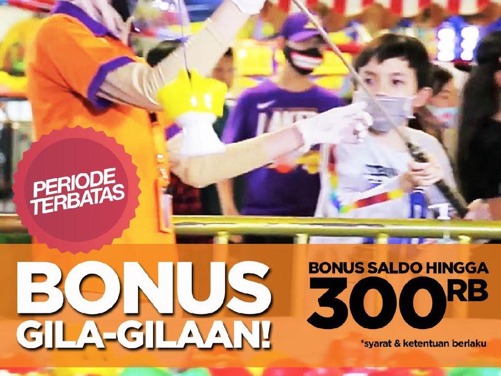 Promo Agustusan KidCity & Trans Studio Mini, Bonus Saldo hingga Rp 300 Ribu