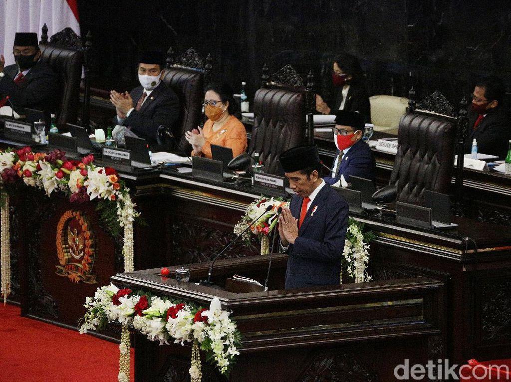 Pidato Lengkap Jokowi yang Sebut RAPBN 2021 Defisit Rp 971 T