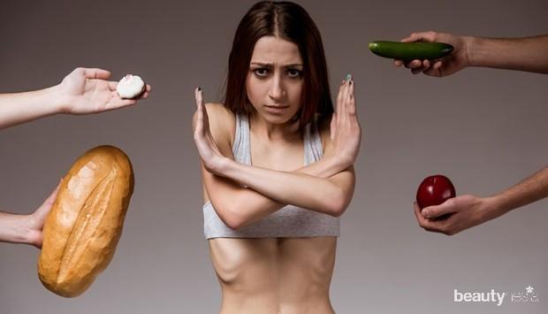 Illustrasi menolak makan