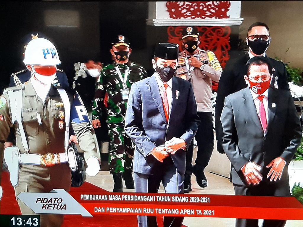 Usai Pidato RUU APBN 2021, Jokowi Tinggalkan Gedung DPR