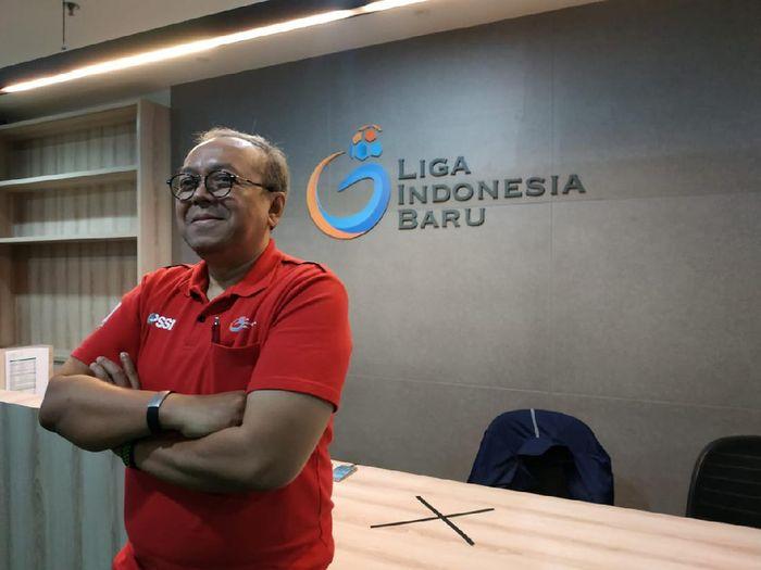 Dirut PT Liga Indonesia Baru, Akhmad Hadian Lukita.