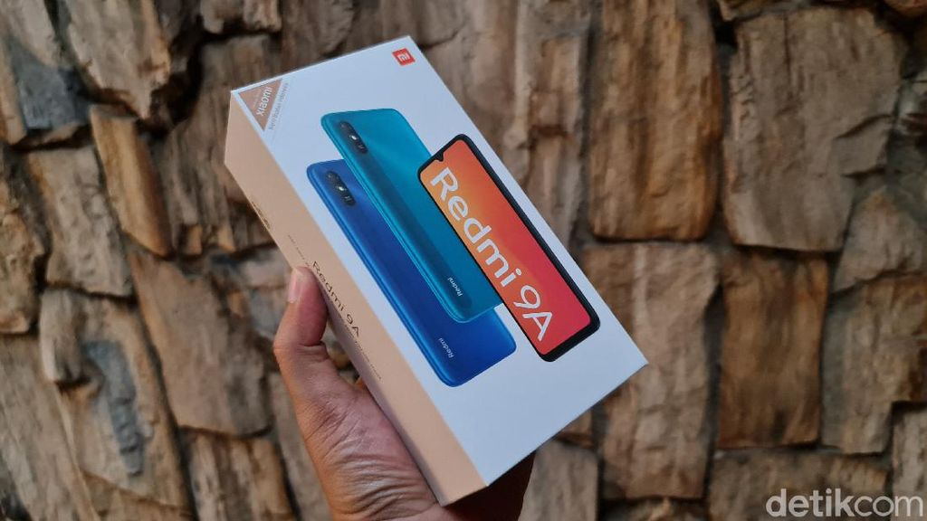 Unboxing Redmi 9A, Ponsel Murah Xiaomi Harga Rp 1,2 Juta