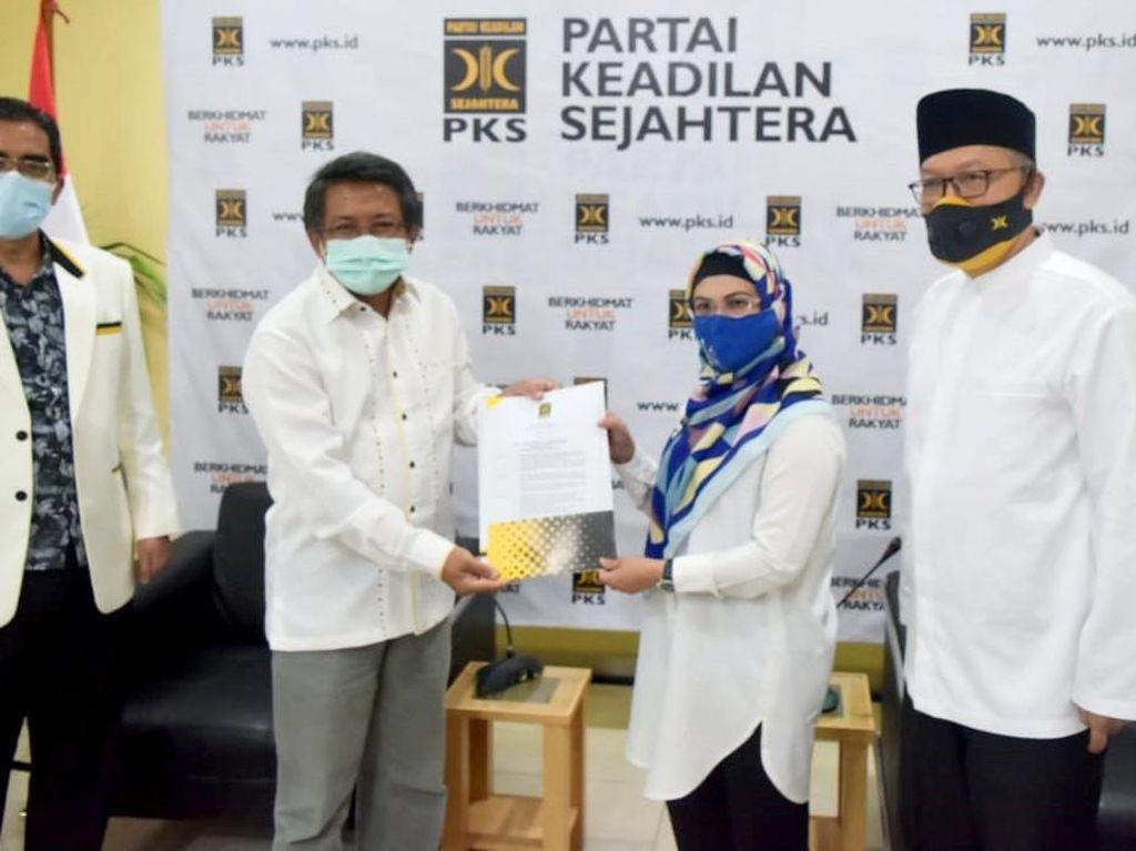 Sah! PKS Resmi Sodorkan Azizah-Ruhammaben