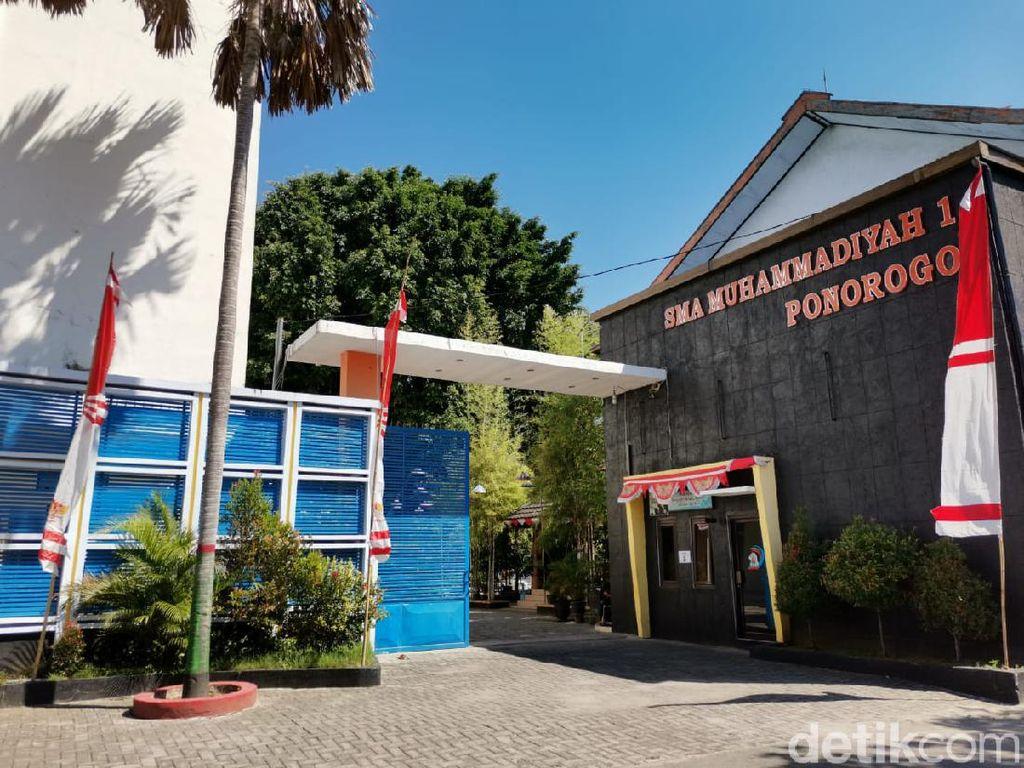 Aturan Ketat Sekolah Tatap Muka SMA Muhammadiyah 1 Ponorogo Akan Diuji Coba