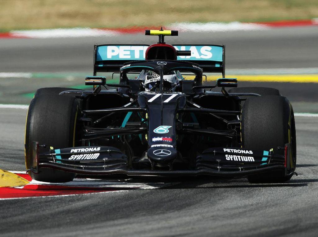Valtteri Bottas Rajai Sesi Latihan Bebas I F1 GP Spanyol