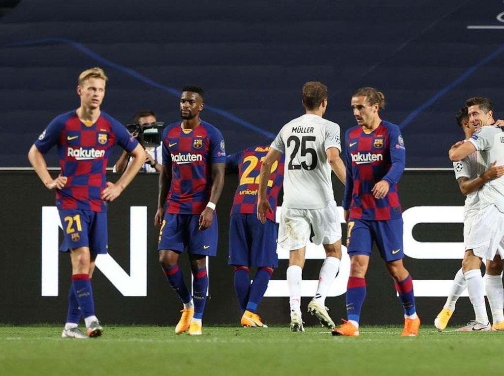Pemain Madrid Senang Banget Lihat Derita Barcelona Dihajar Bayern