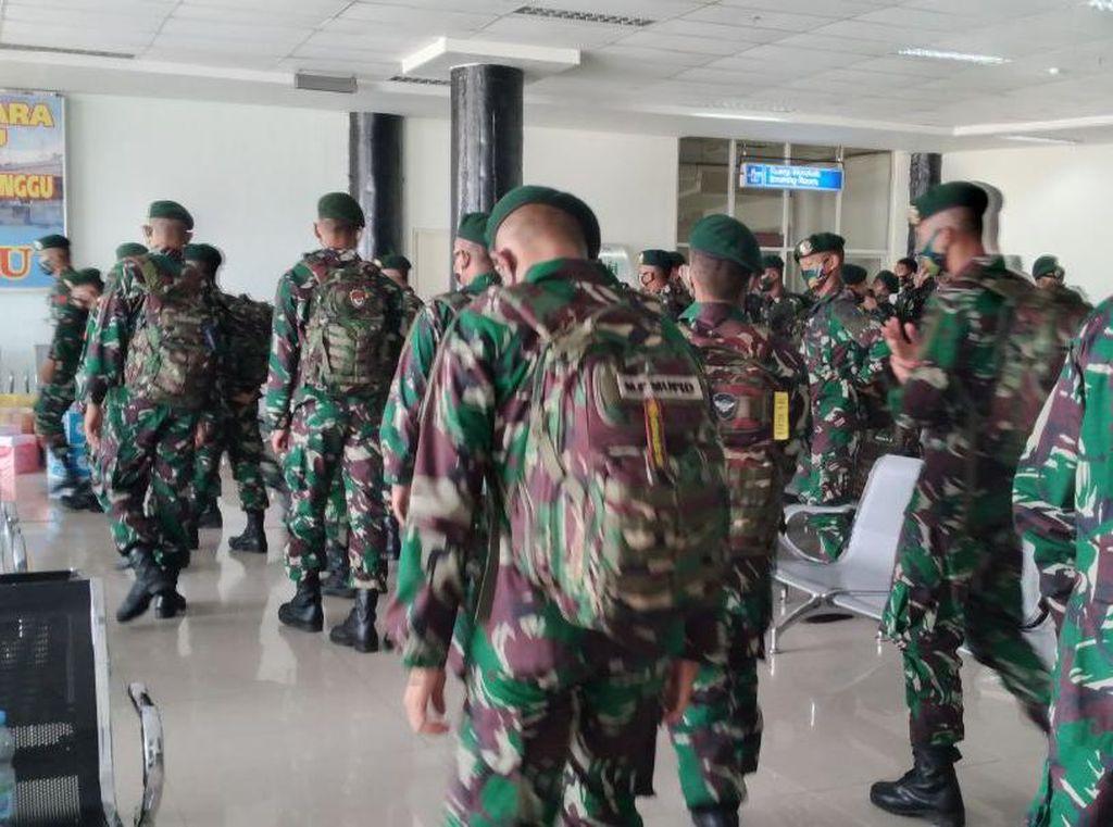 Ratusan TNI Dikerahkan Tumpas Ali Kalora cs Usai Purnawirawan Tewas